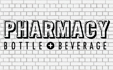 Pharmacy Bottle and Beverage