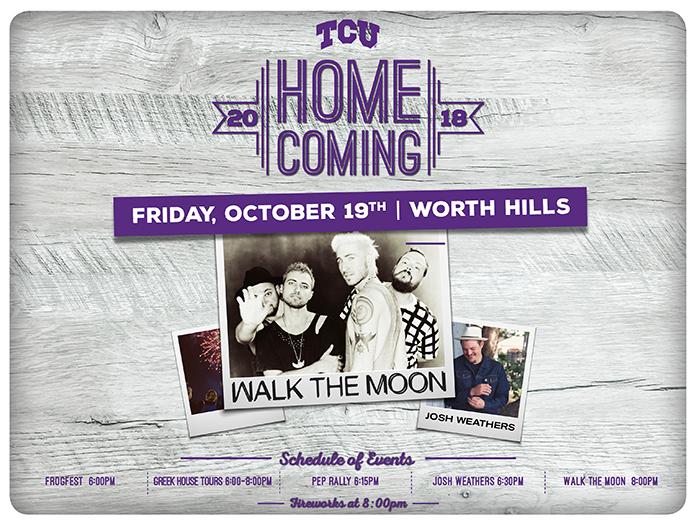 2018 TCU Homecoming & Frogfest